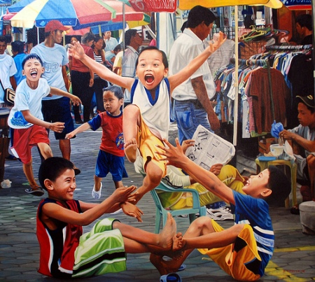 philippines indigenous games The traditional filipino street games bounces back into the mainstream of philippine society finds its home into the hearts of adults, re-discovers the fun of playing larong pinoy during.