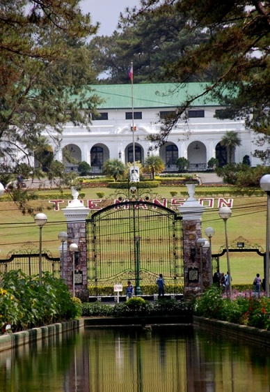 The mansion in baguio city philippines is a landmark popular among